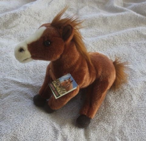 Chestnut Horse Collectable Cuddly toy 12""